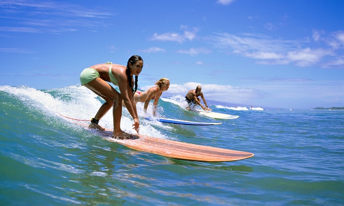 Star-Surf - Ocean Park: One Surf Lesson, Three Surf Lessons or Half-Day Surfboard or Paddleboard Rental at Star-Surf (Up to 62% Off)