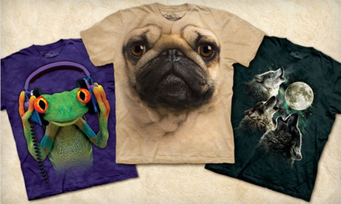 null: $19 for $40 Worth of Graphic Tees from The Mountain