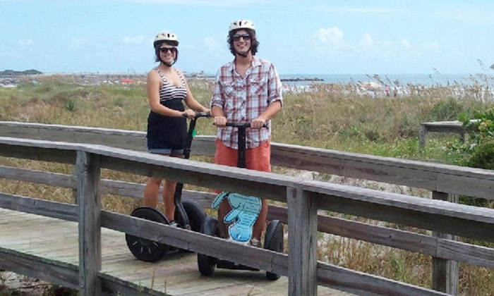 Space Coast Segway Tours, LLC - Cocoa Beach-Cape Canaveral: Port Canaveral Tour for One, Two, or Four from Space Coast Segway Tours, LLC (Up to 64% Off)