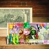 Star Wars Themed, Artist Signed Pop Art on Genuine $2 Bill