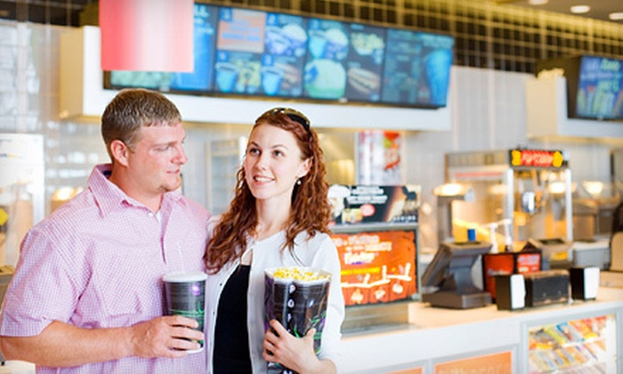 The Screens at the Continent - Busch: Movie Package for Two or Four with Tickets, Sodas, and Popcorn at The Screens at the Continent (Up to 56% Off)