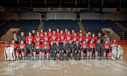 $68 for a Guelph Storm Hockey Game for Four at Sleeman Centre on Saturday, December 20, at 2 p.m. (Up to $104 Value)