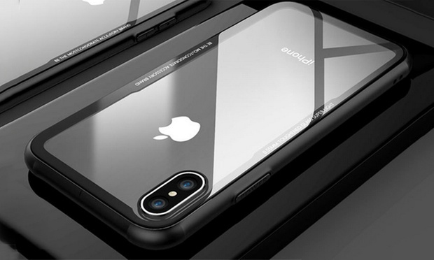 Tempered Glass Protective Case for iPhone: One ($12) or Two ($19)