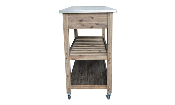 Sonoma Kitchen Cart Or 24 Quot Stool Groupon Goods