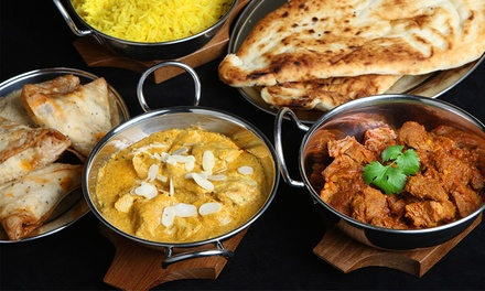 ThreeCourse Indian Meal with Sides for Two or Four at The Tamarind