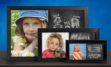 Customized Photo Chalkboards. Multiple Sizes Available from $9.99—$49.99.