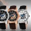 Stührling Original Men's Executive Watches with Date Wheel