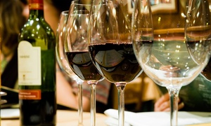 GrapesWine.com: Premium Wine Tasting for One, Two, or Four with Souvenir Riedel Crystal Glasses (Up to 74% Off). Two Locations Available.