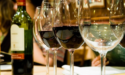 Premium Wine Tasting for One, Two, or Four (Up to 74% Off). Two Locations Available.