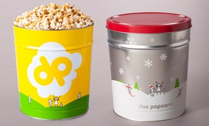 Doc Popcorn - Bladwin Hills Crenshaw Plaza: Popcorn and Tins at Doc Popcorn (35% Off). Two Options Available.