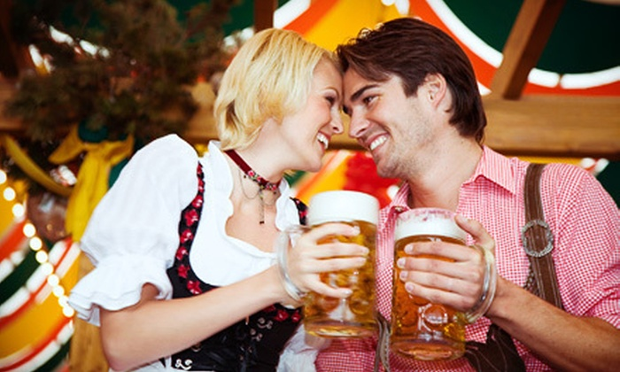 Biergarten On The Green - Westport: $40 for a Beer-Garden Outing for Two with Beer Mugs, Lunch, and Chef Demo at Biergarten On The Green (Up to $80 Value)
