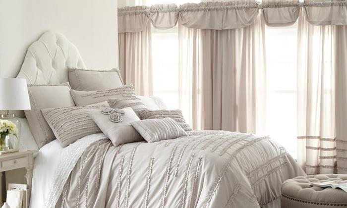 24-Pc. Bedroom Coordinating Comforter Sets