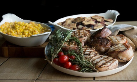 Family Dinner Package with Meats and Sides from 3rd Street Steaks (50% Off). Two Options Available.