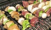 Char-Broil Deluxe Chrome Skewers, Set of 4: Char-Broil Deluxe Chrome Skewers, Set of 4