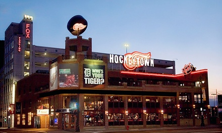 Sports-Bar Food and Drinks at Hockeytown Cafe (37% Off). Three Options Available.