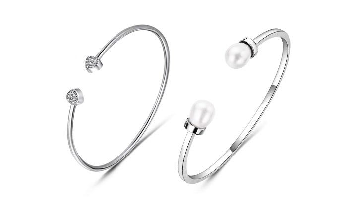 Mestigé / SARROFF DESIGNS PTY Ltd Bracelet avec cristaux Swarovski®  Elements ou perles de