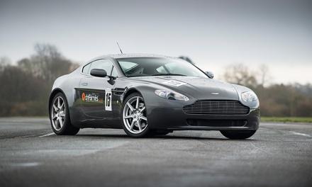 Aston Martin V8 Vantage Driving Experience from Drift Limits