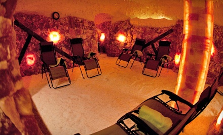 One or Three 50-Minute Salt-Cave Sessions, or Spa Package at Saltcave Solana (Up to 53% Off)
