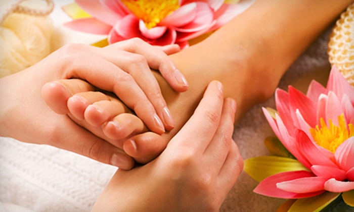 Amb Day Spa - Amb Day Spa: One or Three 60-Minute Hand-and-Foot Reflexology Treatments at Amb Day Spa (Up to 59% Off)