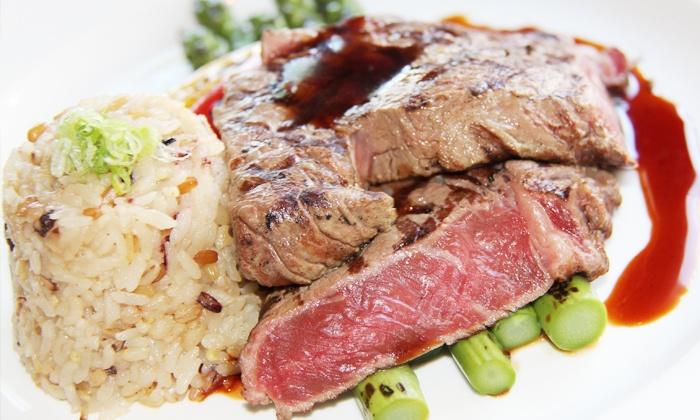EDO - Toronto: C$88 for a Three-Course Kobe Steak or Miso Black Cod Prix-Fixe Dinner for Two at EDO (C$178 Value)