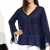 Women's Flared Sleeve Blouse