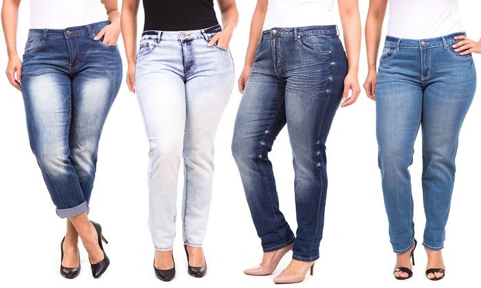 3ed3ab214ac45 V.I.P Jeans Plus-Size Jeans