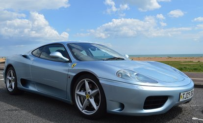 image for Ferrari Driving Experience from €89 with Golden Moments (Up to 61% Off)