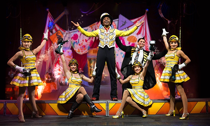 Ringling Bros. Presents Built To Amaze! - Budweiser Events Center: <i>Ringling Bros. and Barnum & Bailey</i> Presents <i>Built To Amaze!</i> on September 12 (Up to 48% Off)