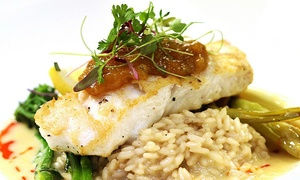Social 242 Lounge & Grill: Dinner for Two or Four at Social 242 Lounge and Grill (Up to 40% Off)