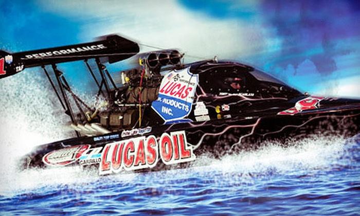2012 NAPA World Finals Boat Races - St. Johns: $125 for a VIP Package for Two at the 2012 NAPA World Finals Boat Races at Firebird International Raceway ($245 Value)