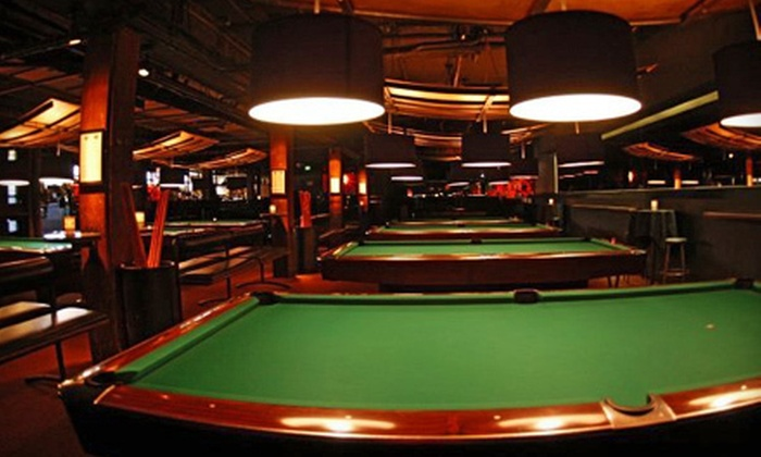 Belltown Billiards - Seattle: $20 Worth of Billiards and Lounge Food