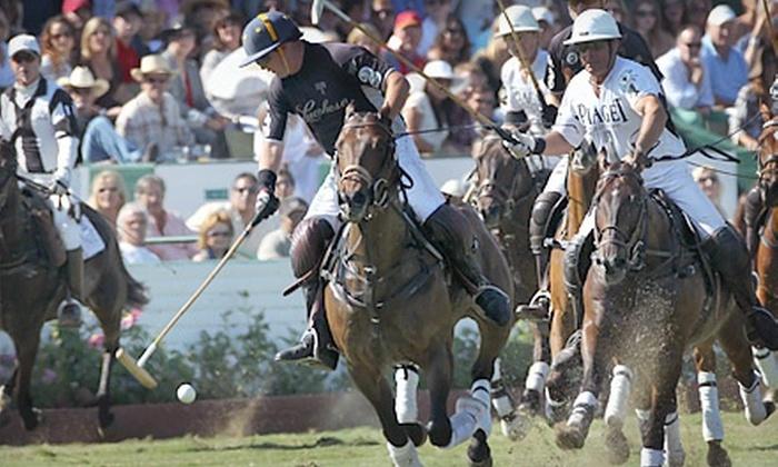 Santa Barbara Polo & Racquet Club - Toro Canyon: Sunday Polo Match for Two or Four at Santa Barbara Polo & Racquet Club (Up to Half Off)