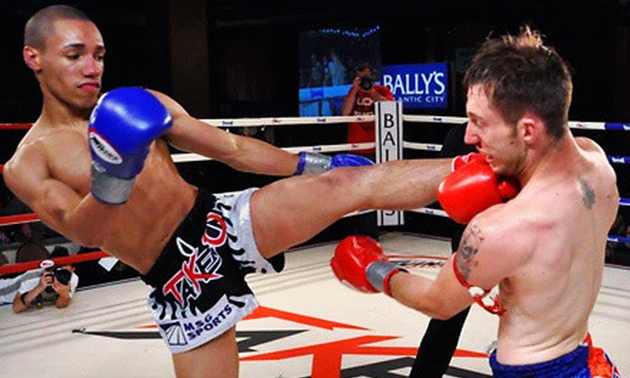 Battle at Bally's II - Atlantic City: $90 to See Battle at Bally's II Muay Thai Fight Event at Bally's Atlantic City on August 11 (Up to $165 Value)