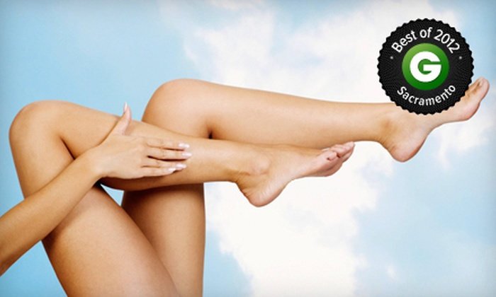The Center for Aesthetic Medicine - Folsom: Two or Four Spider-Vein Removal Treatments at The Center for Aesthetic Medicine (Up to 72% Off)