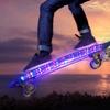 Kids' LED Lighted Skateboard