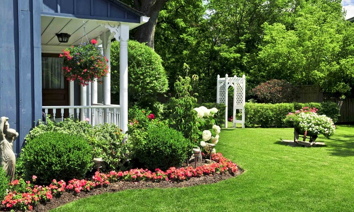 LandSMART Solutions - Washington DC: Sprinkler Startup or Weed-Control Treatment with Option for Fertilizer from LandSMART Solutions (Up to 53% Off)