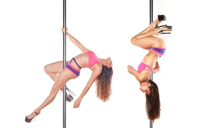 10 or 20 Pole and Fitness Classes or a One-Year Membership at Pole Dance Miami (Up to 52% Off)