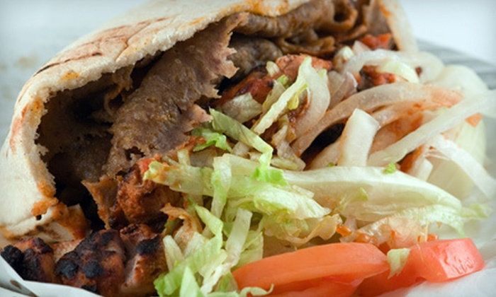 Ariana Kabob & Gyros - Sunland Village: Mediterranean Meal for Two or Four at Ariana Kabob & Gyros in Mesa (Up to 54% Off)