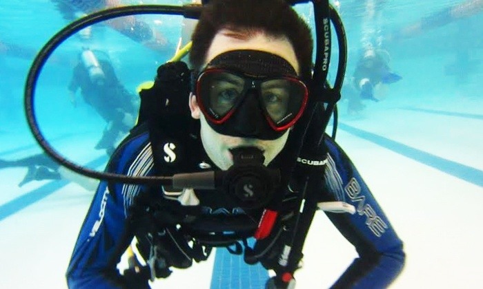 Got Air Scuba - Elk Grove Village: $269 for Scuba Certification Course with Equipment Rental, Materials, and Gear Credit ($500 Value)