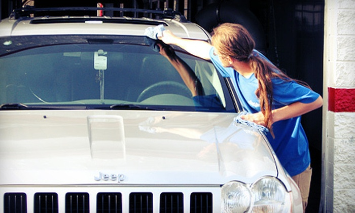 First Avenue Car Wash - Evansville: Two or Four Car Washes at First Avenue Car Wash (Up to 51% Off)