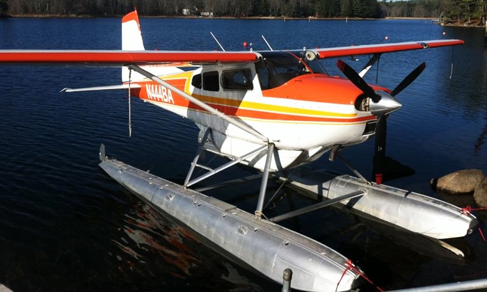 Acadian Seaplanes - Rangeley Lake Seaplane Base: Seaplane Dinner Tour for Two or Four from Acadian Seaplanes (Up to 30% Off)