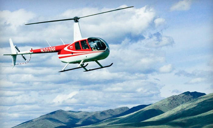 Silverhawk Aviation - Multiple Locations: $120 for a Discovery Helicopter Flight for One or Tour for Three from Silverhawk Aviation (Up to $275 Value)