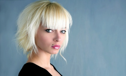 Haircut and Style with Optional All-Over Color at Sally & Company at The Loft (Up to 55% Off)