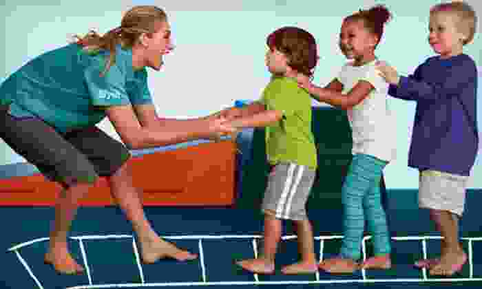 The Little Gym - Langley: Four Kids' Classes with Family Membership, or Two Days of Kids' Summer Camp at The Little Gym (Up to 65% Off)
