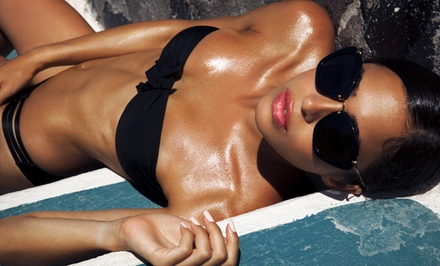 One or Five Organic Spray Tans at Miami Star Glo (Up to 51% Off)