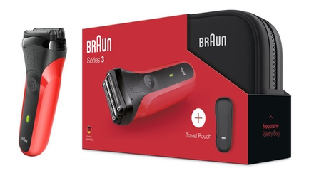 Braun Series 3 Men's Electric Shaver Gift Set