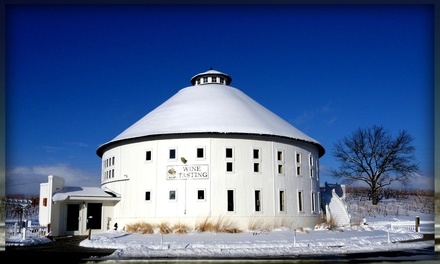 Wine Tasting or Beer for Two or Four at Round Barn Winery, Distillery & Brewery (50% Off)