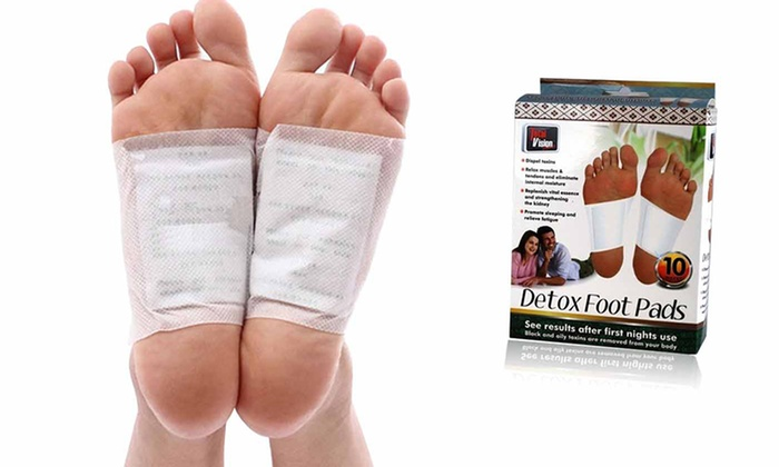 Detoxifying Foot Pads (10 or 20 Pads): Detoxifying Foot Pads (10 or 20 Pads)