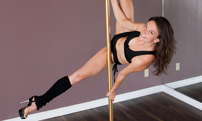 Pole Incorporated - Leslieville: 30 or 60 Days of Beginner Classes or Group Pole Fitness Party at Pole Incorporated (Up to 56% Off)