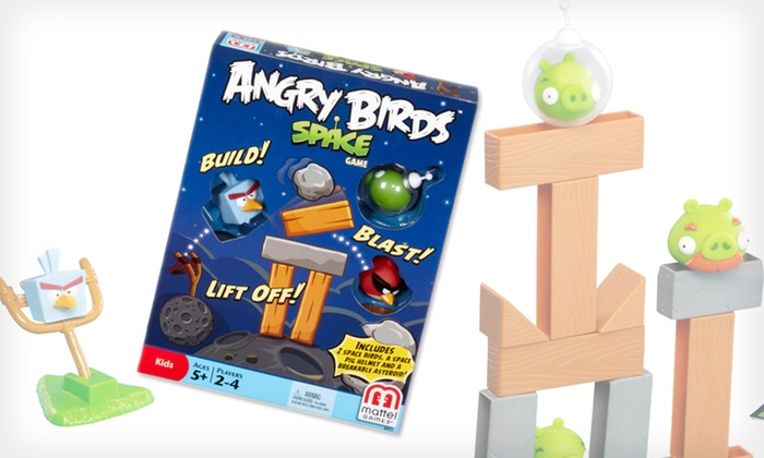Angry Birds Space Board Game: $10 for the Angry Birds Space Board Game ($17.99 List Price). Free Shipping and Free Returns.